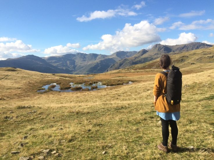 Customer exploring the Lake District with their Og backpack.