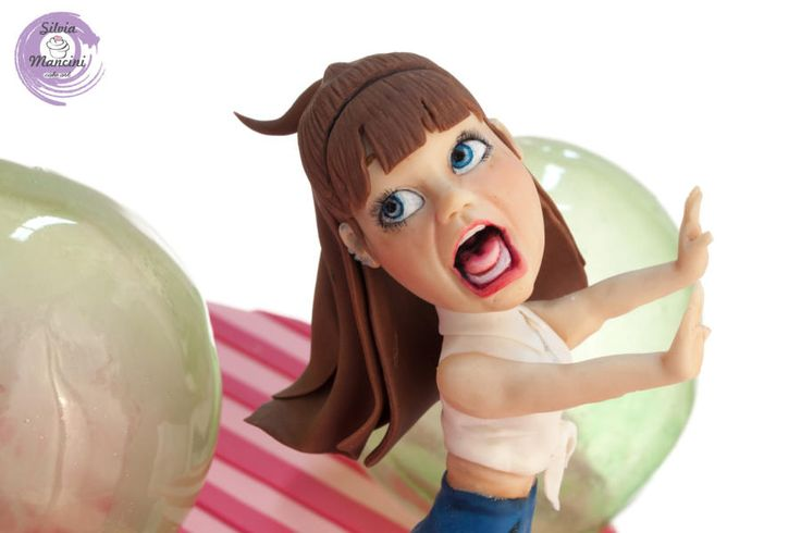 Bubble Bobble - ARCADE GAME COLLABORATION by Silvia Mancini Cake Art
