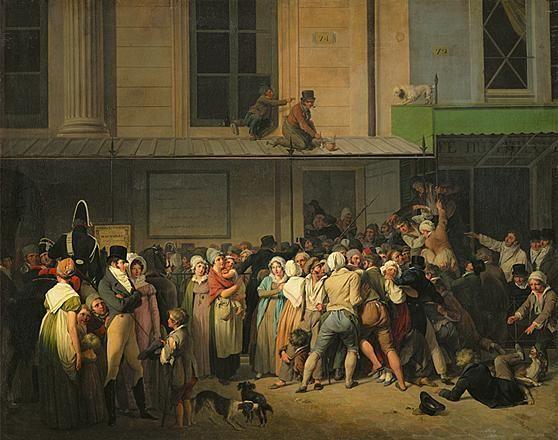 Louis Léopold Boilly - L'entrée du théâtre - Louis Léopold Boilly — Wikipédia