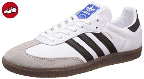 adidas Herren Samba OG Ausbilder, Weiß (Ftwr White/Core Black/Gum), 43 1/3 EU - Adidas sneaker (*Partner-Link)