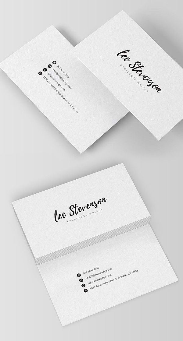 Clean Business Card Templates Design Graphic Design Junction Graphic Design Business Card Freelance Business Card Business Card Template Design