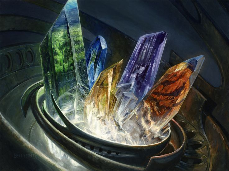 Prismatic Geoscope - MtG Art