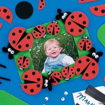 Ladybug Picture Frame Foam Kits