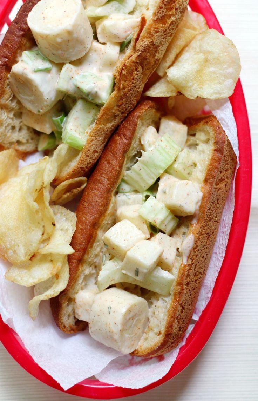 Easy Vegan Maine Lobster Rolls (GlutenFree, AllergyFree