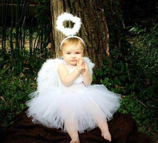 Toddler Girl Angel Costume