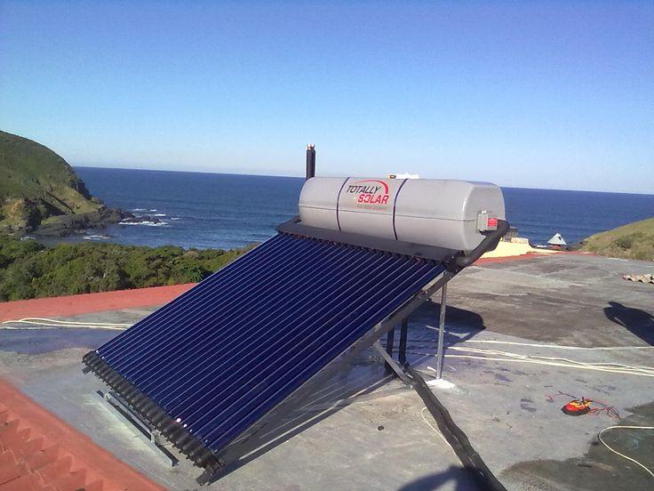 Totally Solar Hot Water Geyser Installation