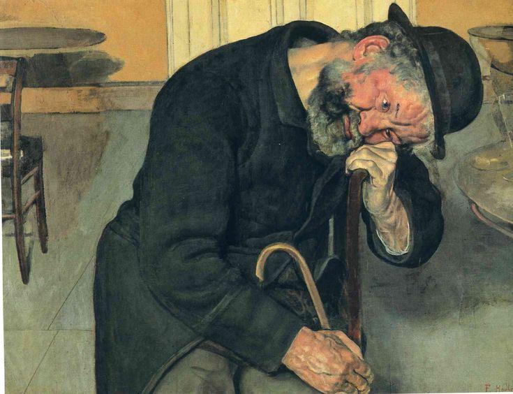 A Troubled Soul - Ferdinand Hodler
