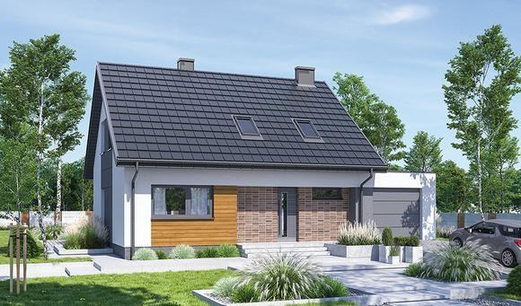 Projekty Domow Parterowych Z Mozliwoscia Adaptacji Poddasza Z Kolekcji Muratora Murator Projekty Outdoor Decor Home Decor Decor
