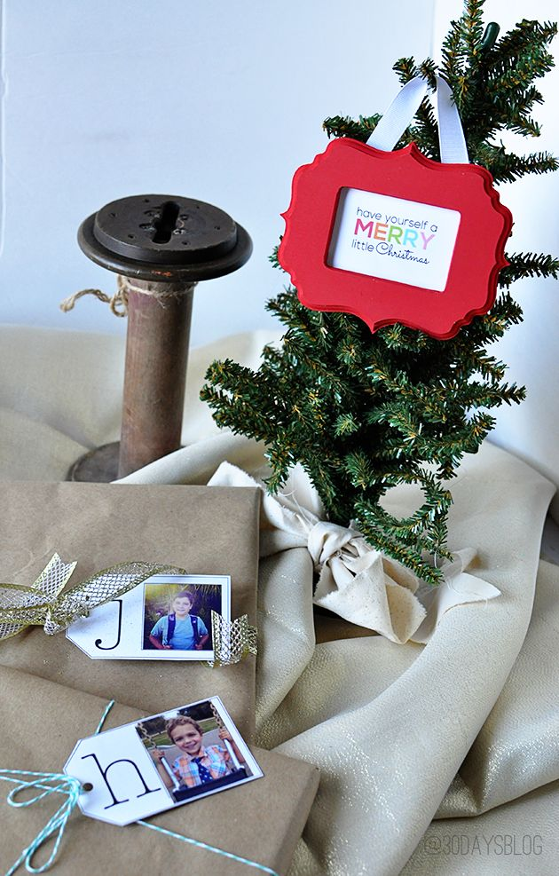 Printable Gift Tags - cute tags, perfect for the holidays www.thirtyhandmadedays.com