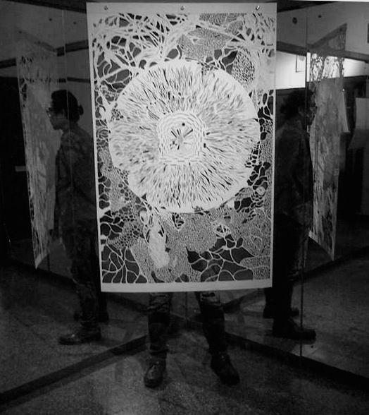 """Mykonos""  with JPEG at Galeri Gerilya"