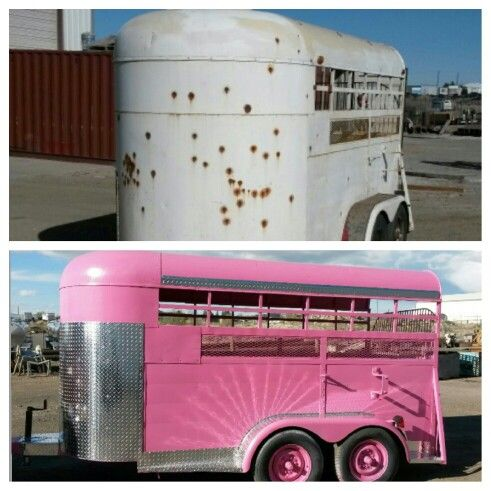Best Horse Trailers Ideas On Pinterest Cattle Trailers Van - Before and after achorse stable