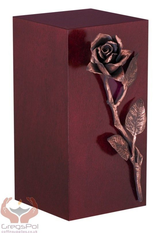 Unique Artistic Cremation Urn Rose- Funeral Urn for Adult Ashes Urn (A – unique.urns_caskets