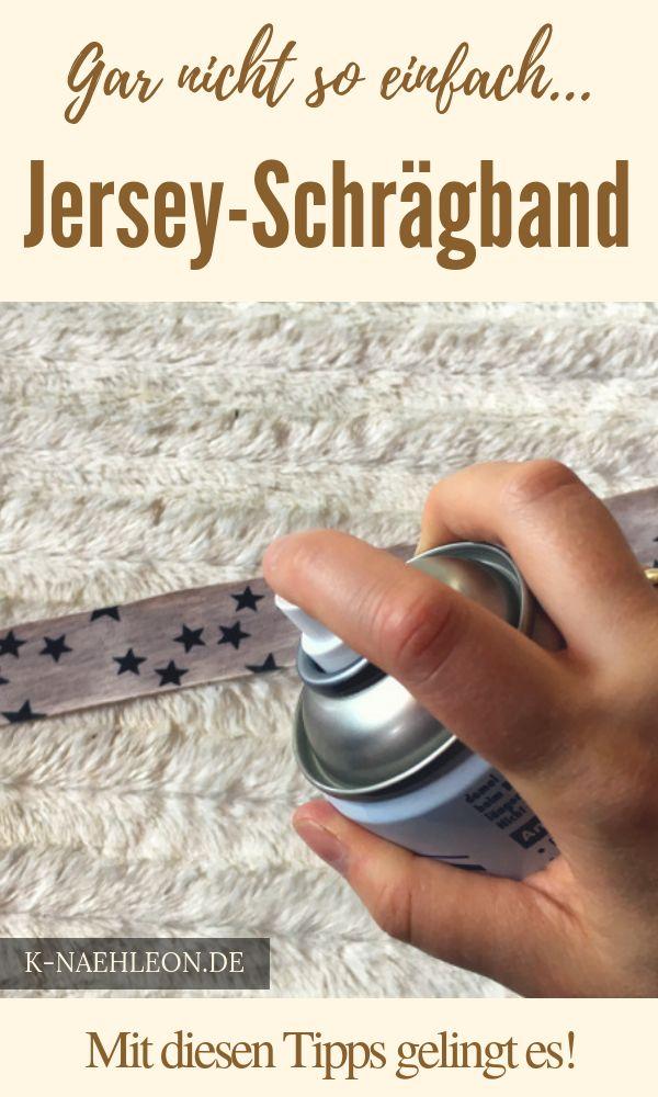 Der ultimative Tipp, damit dein Jersey-Schrägband gelingt. So kannst du endlich die Säume mit deinem eigenen individuellem Schrägband einfassen! Eine Nähanleitung von K-Nähleon #nähen #nähanleitung #diy #nähenfürkinder #nähenisttoll #k-nähleon – linda murach