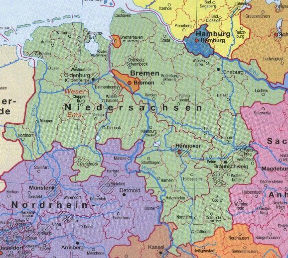 deutschland niedersachsen karte niedersachsen karte deutschland #deutschland #karte #niedersachsen