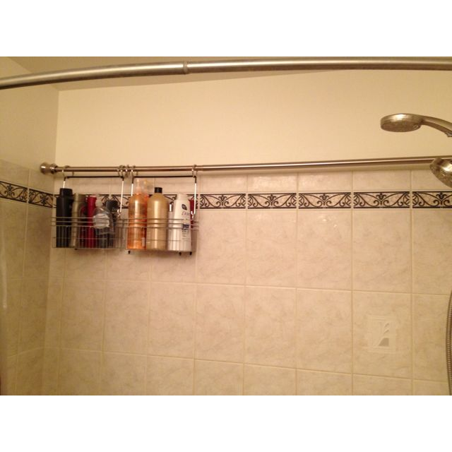 Brilliant Idea For Storage In An Odd Shaped Bath Shower I Think I Did Good For The Home