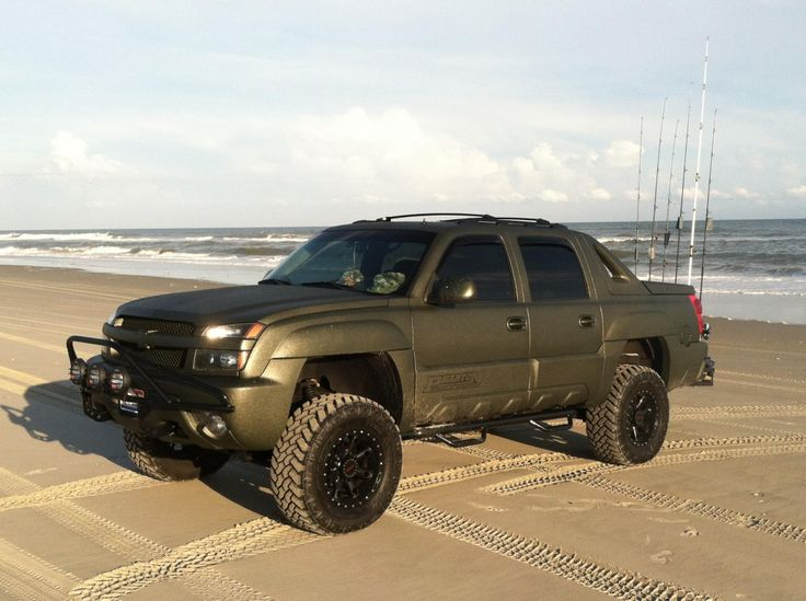 Chevy avalanche tricked out