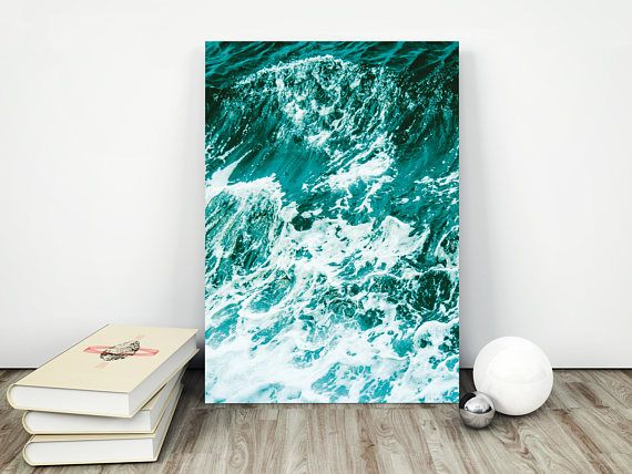 SALE!!! 30% DISCOUNT!!! Apply Coupon code SAVE30 at checkout and get 30% OFF!!!  Ocean  Modern and minimalist art you download and print yourself. A simple and quick way to give your decor a modern twist. YOUR ORDER WILL INCLUDE 5 HIGH-QUALITY IMAGES:  > 1 JPG 8x10 > 1 JPG 11x14 > 1 JPG 18x24 > 1 JPG 50x70 cm > 1 JPG International paper size for printing A5, A4, A3, A2, A1.  Resolution all of these files: 300dp  We can happily email you any other size you need too ! There is no...