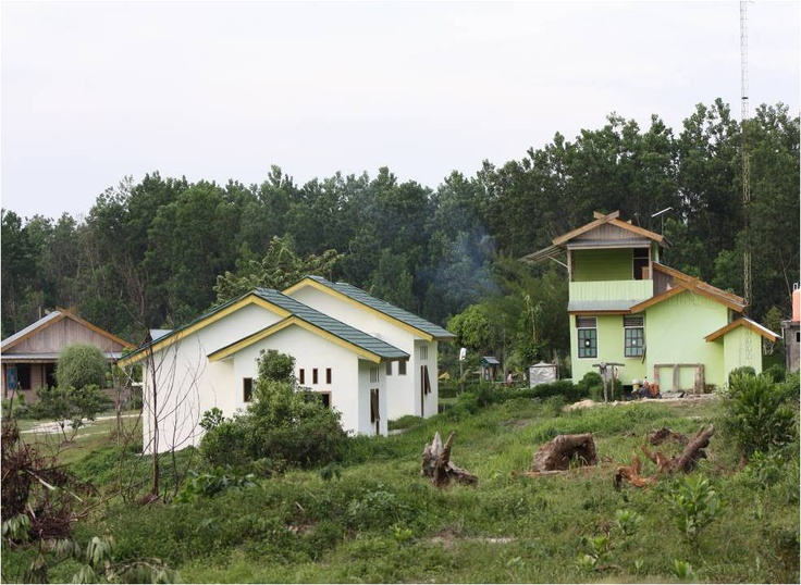 GuestHouse at TessoNilo National Park, Pelalawan Distric, Riau