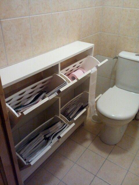 17 melhores ideias sobre meuble rangement wc no pinterest for Porte revue ikea