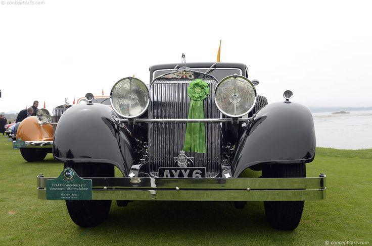 1934 Hispano Suiza J12 Imagen