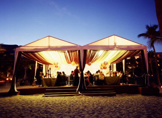 A Draped Tent On The Beach At Sunset Photo By Meg Smith