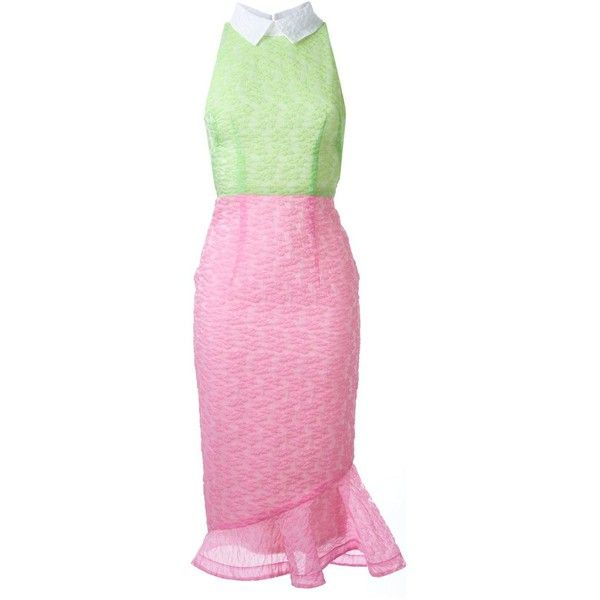 Alex Perry Mia Dress (9.290 DKK) ❤ liked on Polyvore featuring dresses, pink dress, alex perry and alex perry dresses