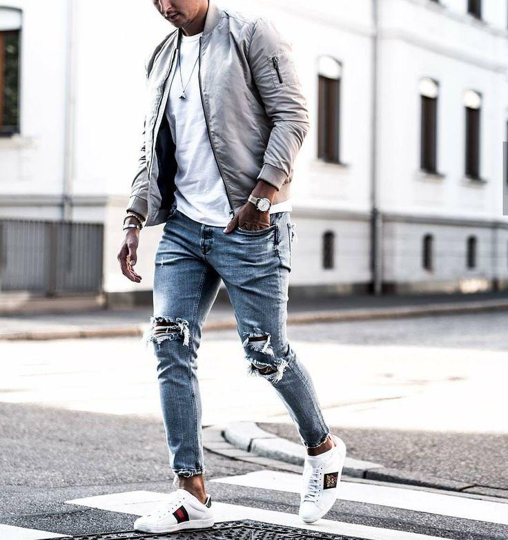 тяжелого рваные джинсы под высокие кеды фото ребята кто