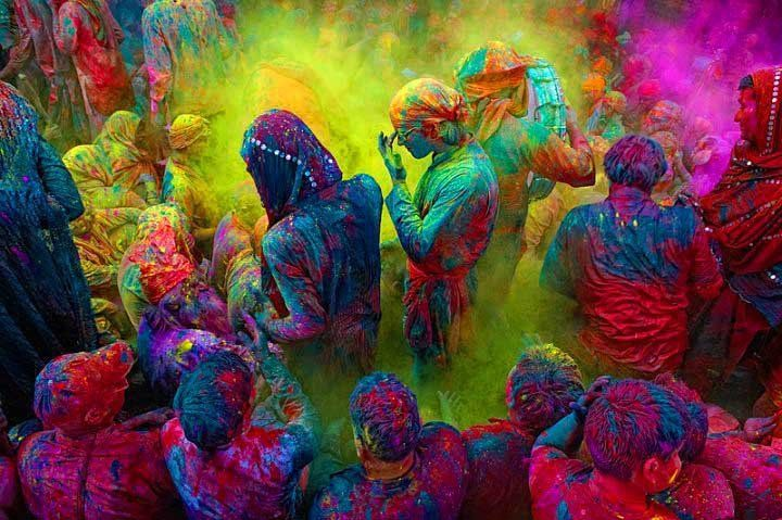 Colours, India. My new dream: to experience the Holi festival: Paintings Parties, Ears Spring, Colour, Photos Galleries, Buckets Lists, The Holidays, Color, India, Holy Festivals