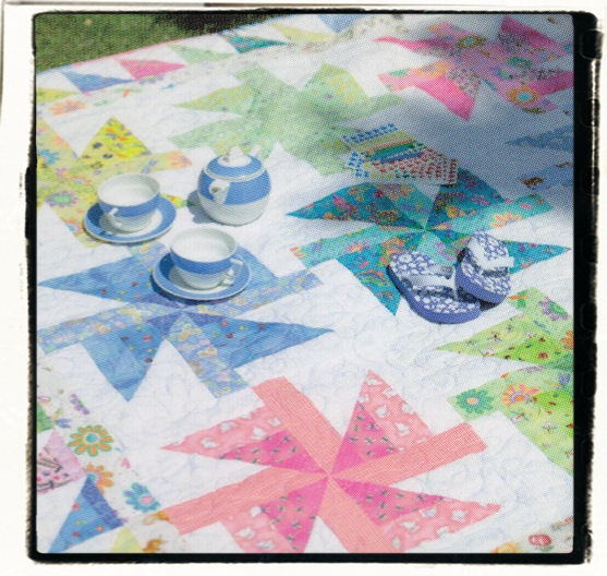 Birthday Gift from Jelly Roll Inspirations Quilt