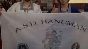 """Per l'associazione avellinese """"a.s.d. Hanuman"""" si sono presentati due atleti sul tatami"""