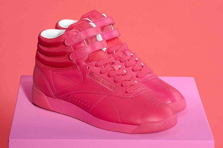 Door de sneakercampagne van Reebok wil je je witte gympen de deur uit doen