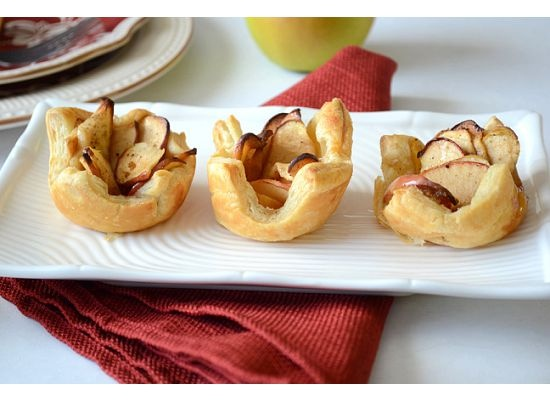 easy baked apple tarts | food | Pinterest
