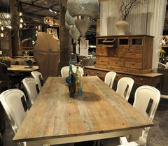 Sources for Custom Tables Made From Reclaimed Wood