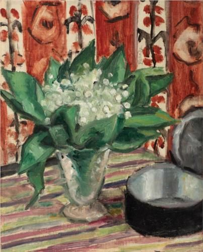 Still Life with May Lilies - Theodor Pallady - Romania