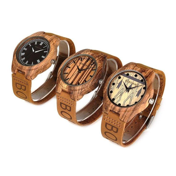 BOBO BIRD L-O30 Men's Quartz Top Brand Design Crazy Horse Leather Band  Watches #BoboBird #Casual