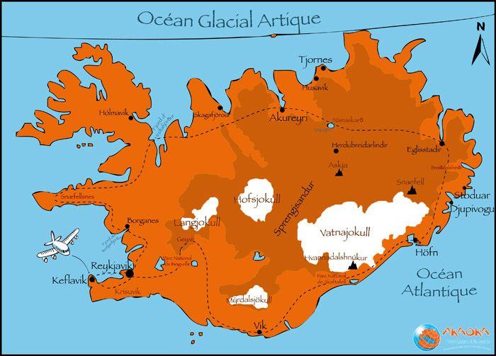 Vacances Islande, autotour sur les côtes islandaises : Akaoka