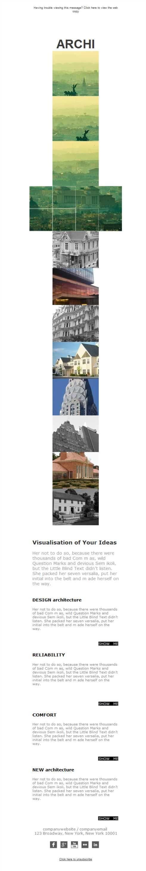 Best Arquitectos Y Arquitectura  Plantillas Newsletter Images