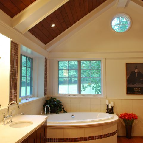 Master Bathroom | Residence in Great Falls, Virginia | Ballard Mensua Architecture