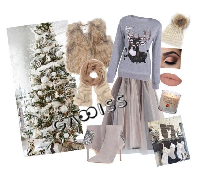Untitled #22 by ivana-tomaskova on Polyvore featuring polyvore fashion style Old Navy Chicwish Portolano clothing