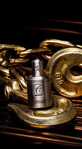 Stillare dripper by Cartel mods.  Silver pins Silver screws Slotted design dual adjustable airflow