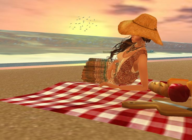 """Picnic on the Beach"""