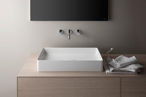 laufen living square counter basin - Google Search