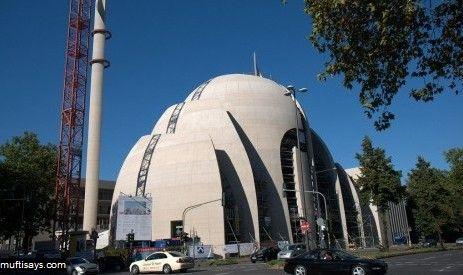Masjid Cologne Jerman, Arsitektur Masjid Modern www.republika.co.id/berita/dunia-islam/khazanah/