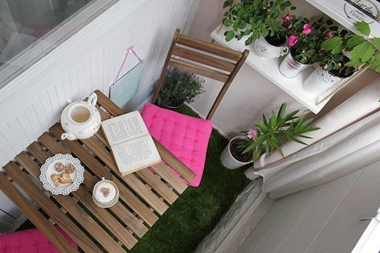 Before & After: The Teeny Tiny Balcony Total Makeover — Decorating Project   Apartment Therapy