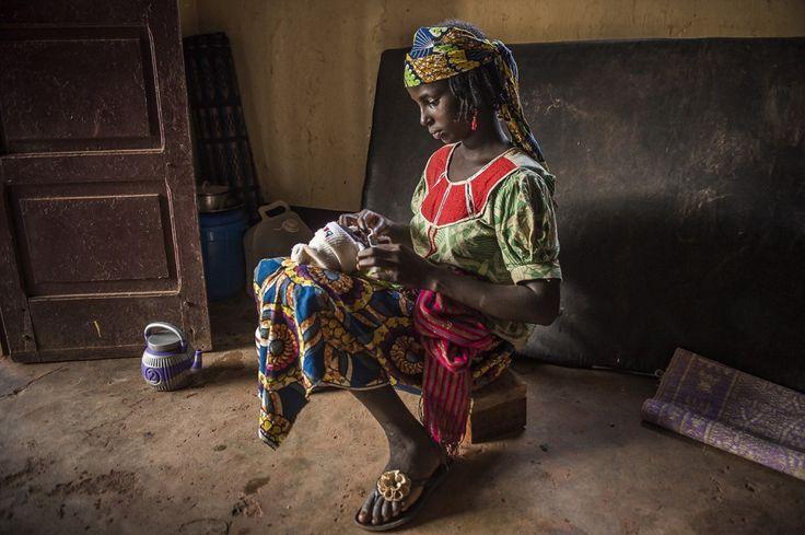 Bambini in fuga dalle violenze della Repubblica Centrafricana