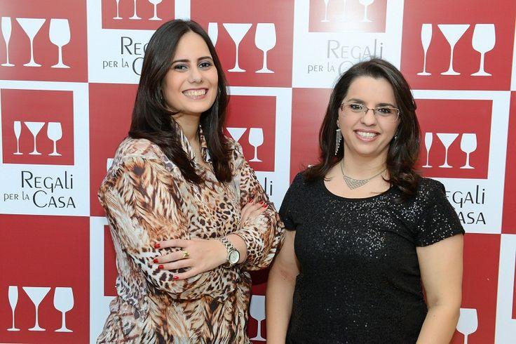 As empresárias Ana Paula Pereira e Tatiana Andolfato, proprietátias da loja Regali Per La Casa