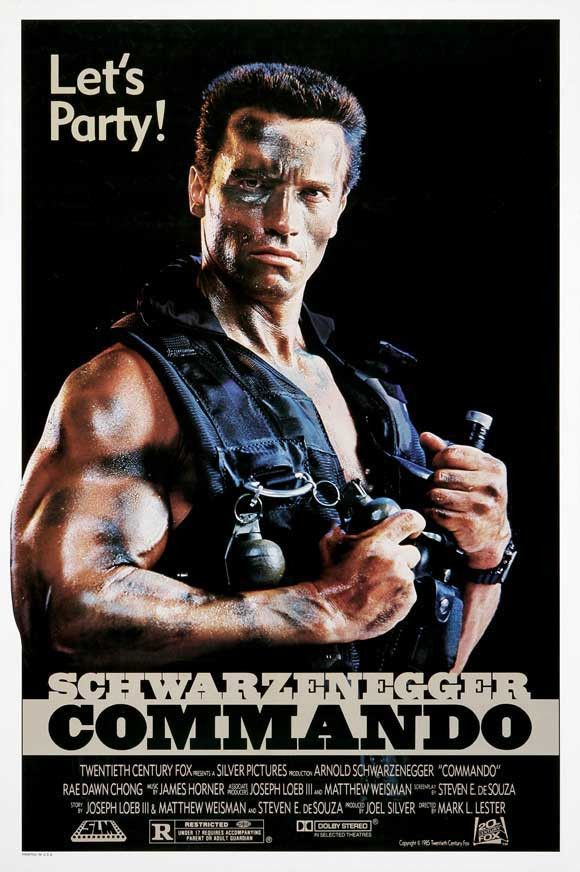 Commando 27x40 Movie Poster (1985)