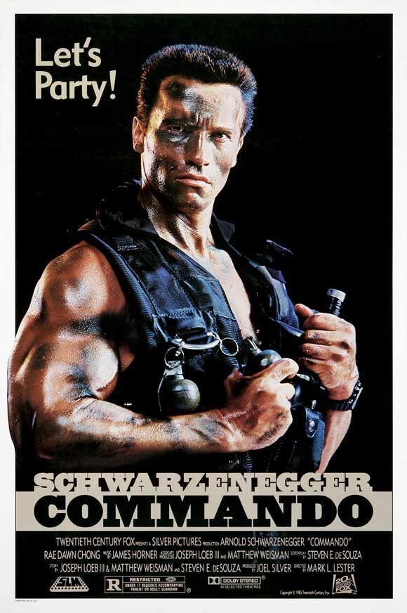 CAST: Arnold Schwarzenegger, Rae Dawn Chong, Dan Hedaya, Vernon Wells, James…