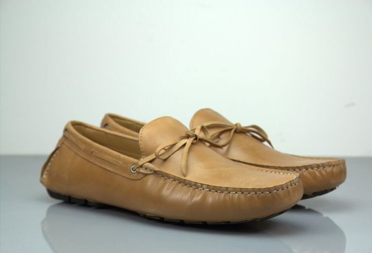 Fane Lace Camel Brown Leather Loafers. #insititchu #footwear #menswear #suedeloafers #mensstyle #fashion