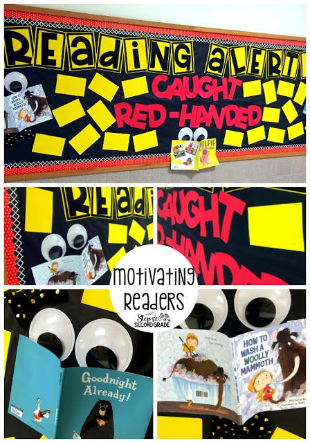 Reading Bulletin Board:  Motivating readers, reading at home, home and school connection, reading alert